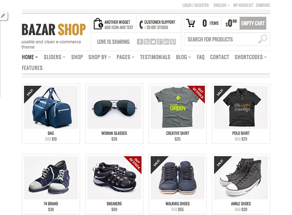 Bazar SHOP – Best Selling WordPress Themes