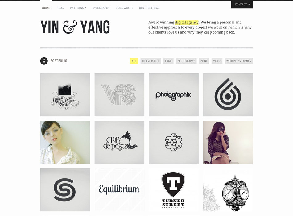 Yin Yang – Best Selling WordPress Themes