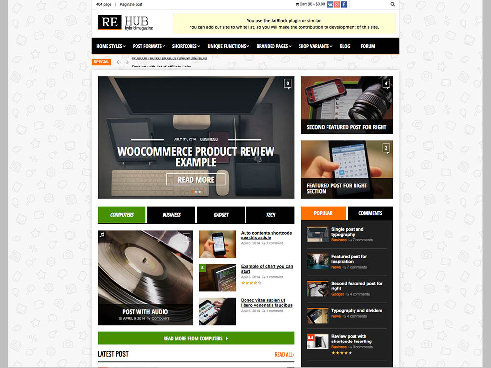 Rehub - Best WordPress Magazine Themes