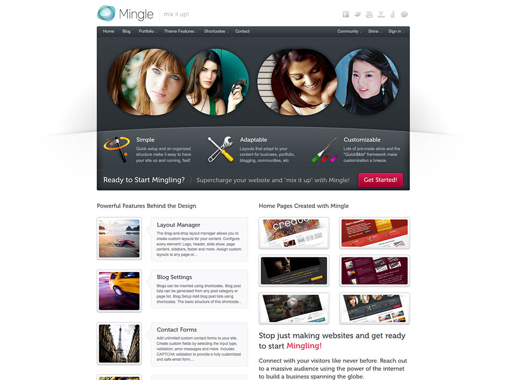 mingle website