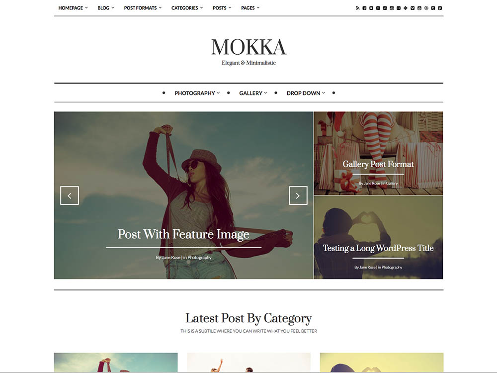 Mokka - Best WordPress Magazine Themes