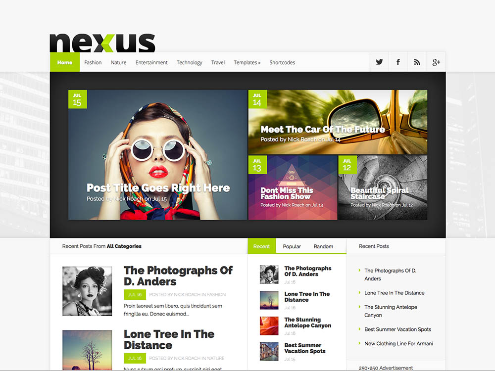 One of the best magazine themes for WordPress