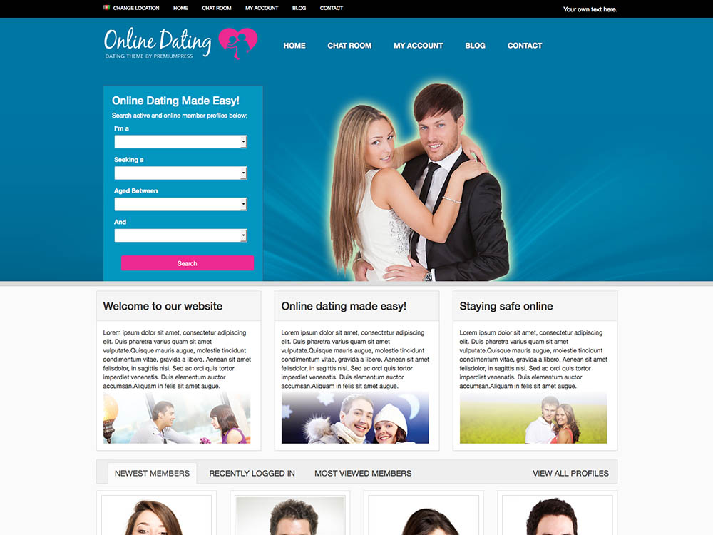 Free Wordpress Themes For Hookup Site
