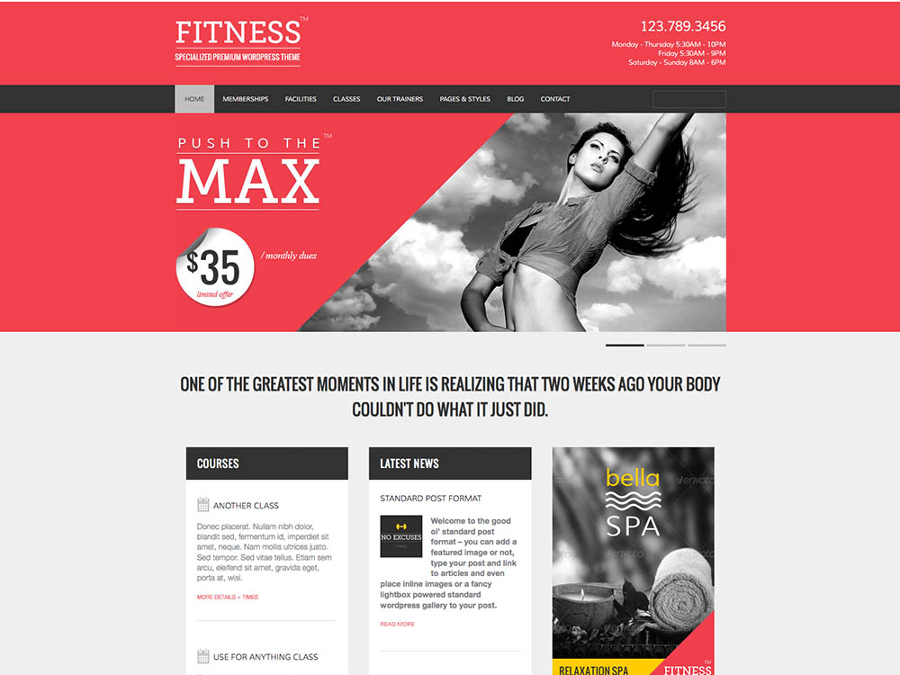 Welcome to Fitness GamePlan Best WordPress Gym and Fitness Themes