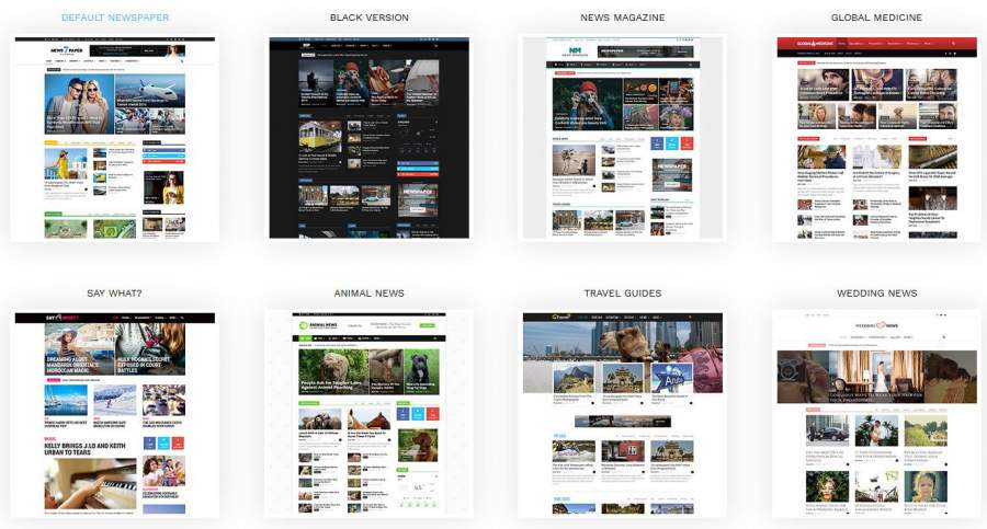 wordpress newspaper magazine theme fiverr