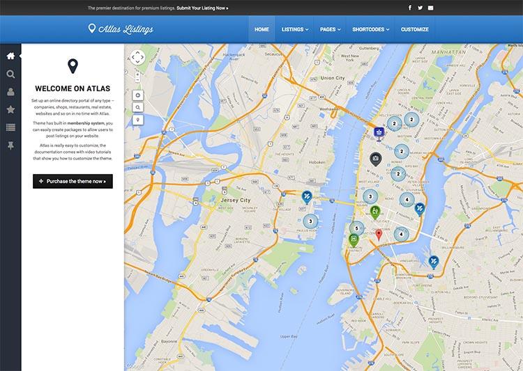 Atlas - Best WordPress Business Directory Themes