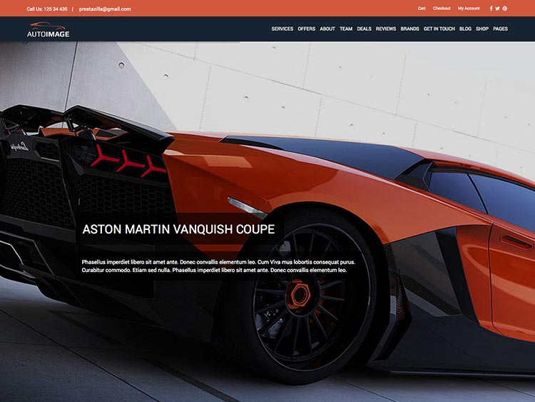 AutoImage - Best WordPress Car Dealer Themes