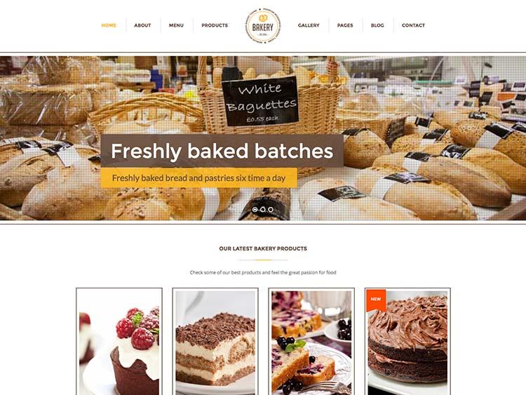 Bakery Theme for WordPress