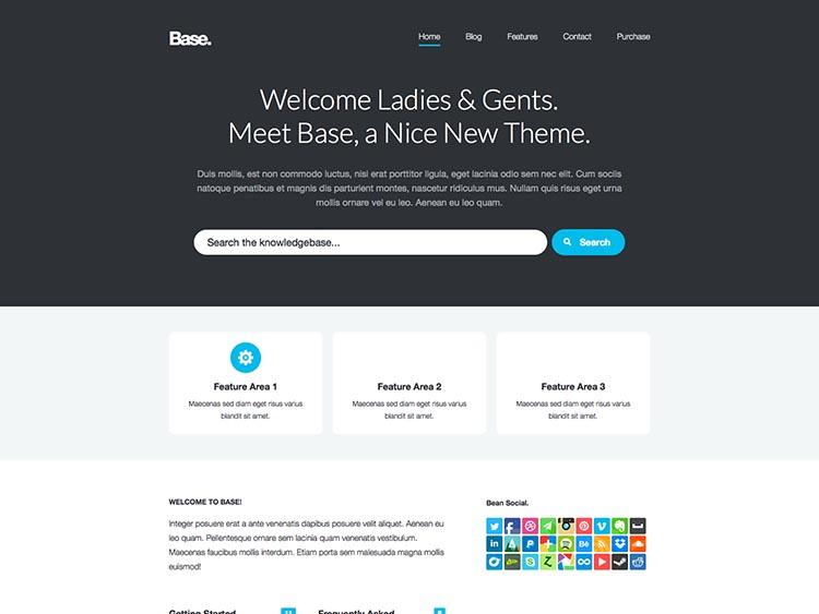 Base - Best WordPress Knowledge Base Themes