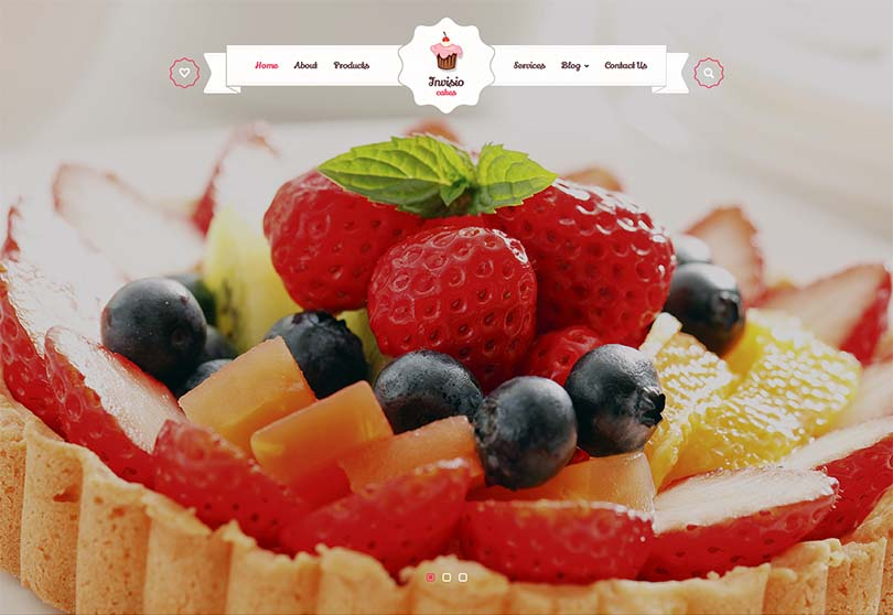 another bakery theme for WordPress that we like
