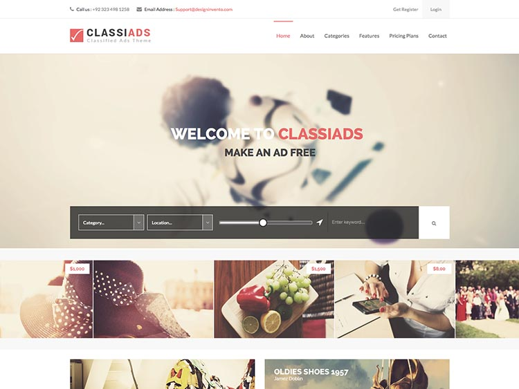 10+ Best WordPress Classifieds Themes for 2018 - Siteturner