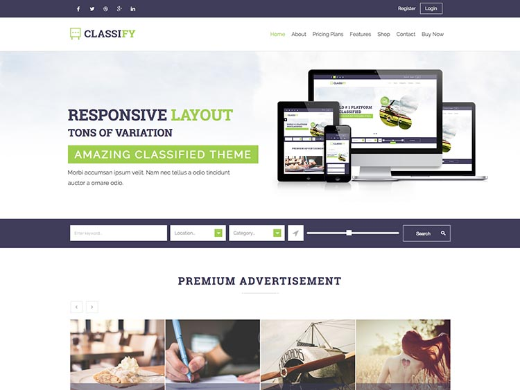 Classify - Best WordPress Classifieds Themes