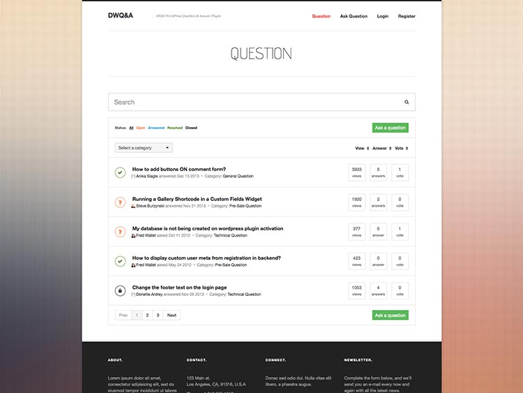 DW Q&A - Best WordPress Question and Answer Plugins