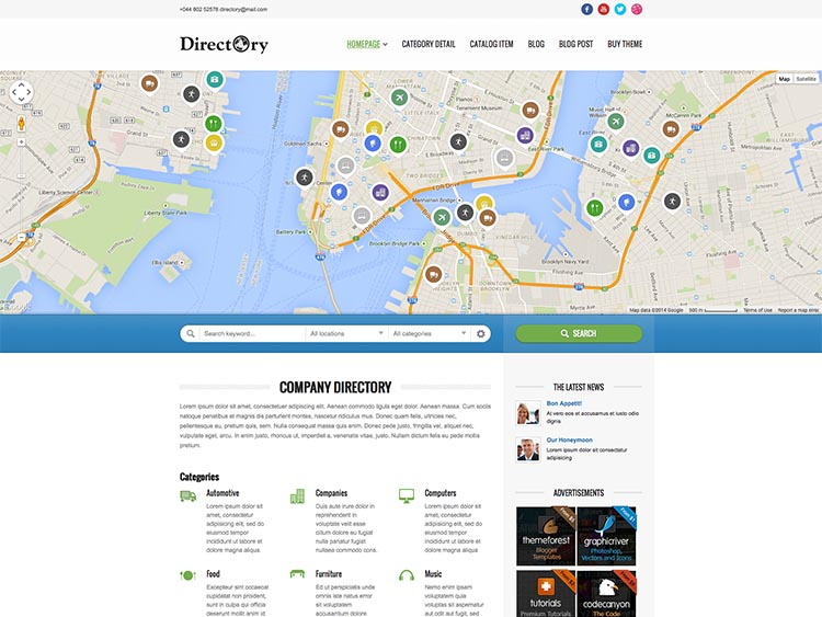 18 best wordpress business directory themes for 2018 siteturner directory portal best wordpress business directory themes cheaphphosting Image collections