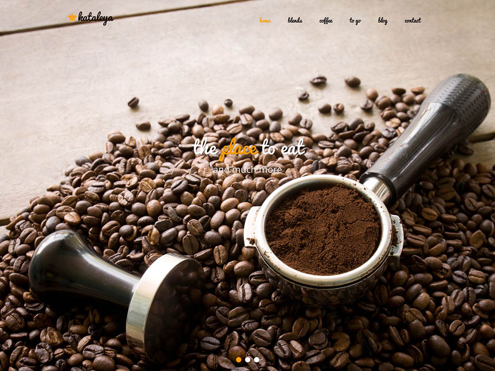 Kataleya - - Best WordPress Coffee Shop Themes