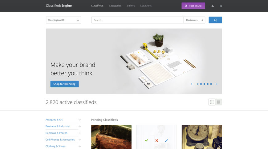 The best (and our favorite) WordPress Classifieds Theme