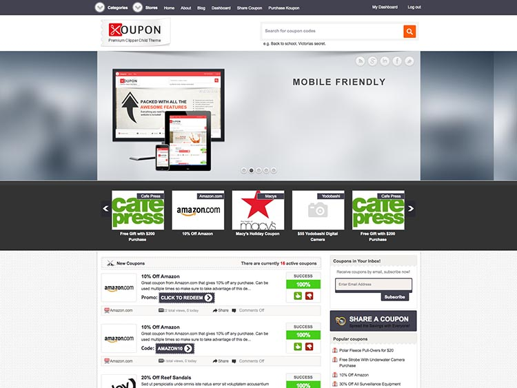 Koupon - Best WordPress Coupon Themes
