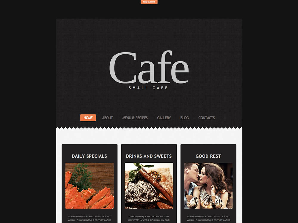 Cafe TemplateMonster - Best WordPress Coffee Shop Themes