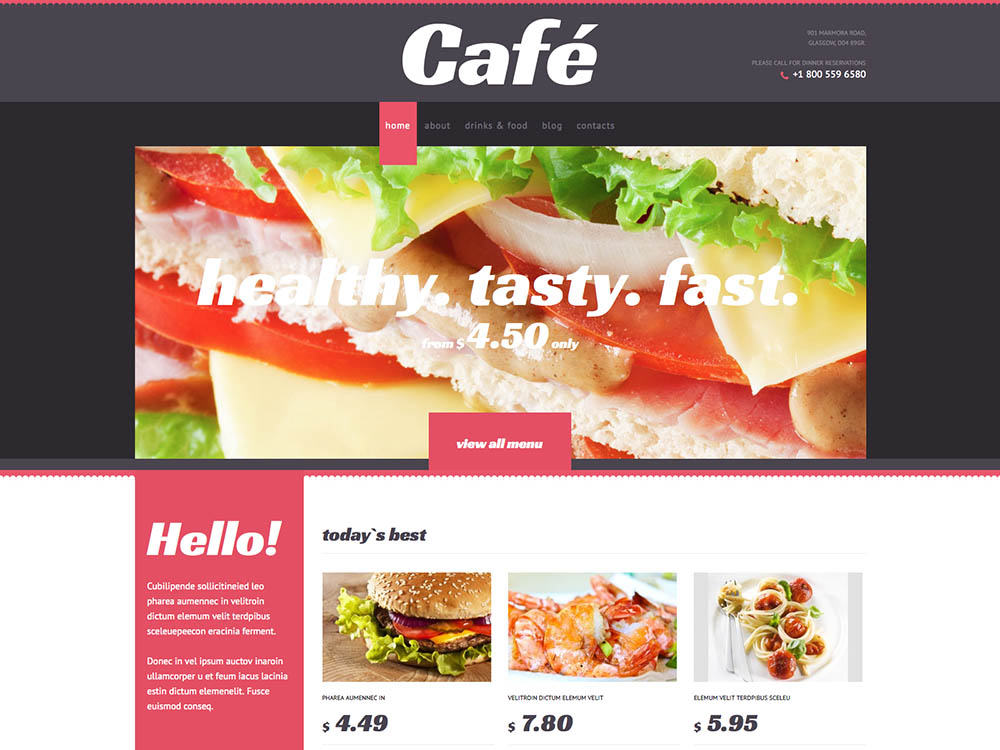 Cafe Again, Real Creative Name - Best WordPress Coffee Shop Themes