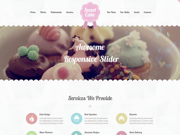 Sweet_Cake - Best WordPress Cake Shop and Bakery Themes