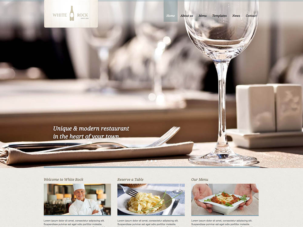 White_Rock - Best WordPress Wine Themes