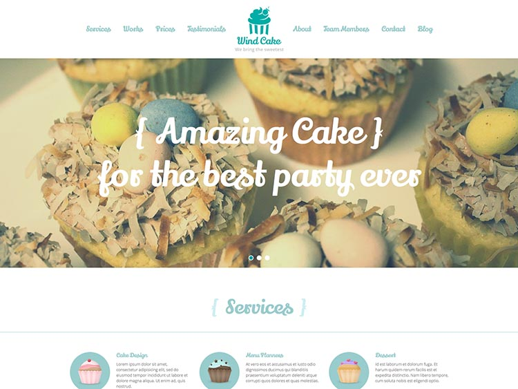 Best WordPress Cake Shop and Bakery Themes