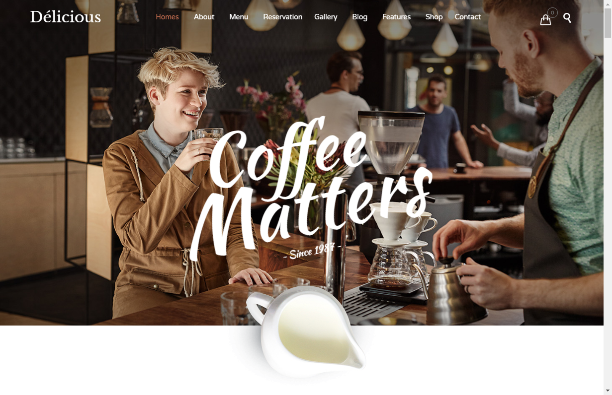 restaurant cafe theme for wordpress