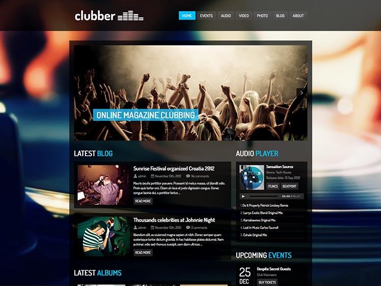 Clubber Theme