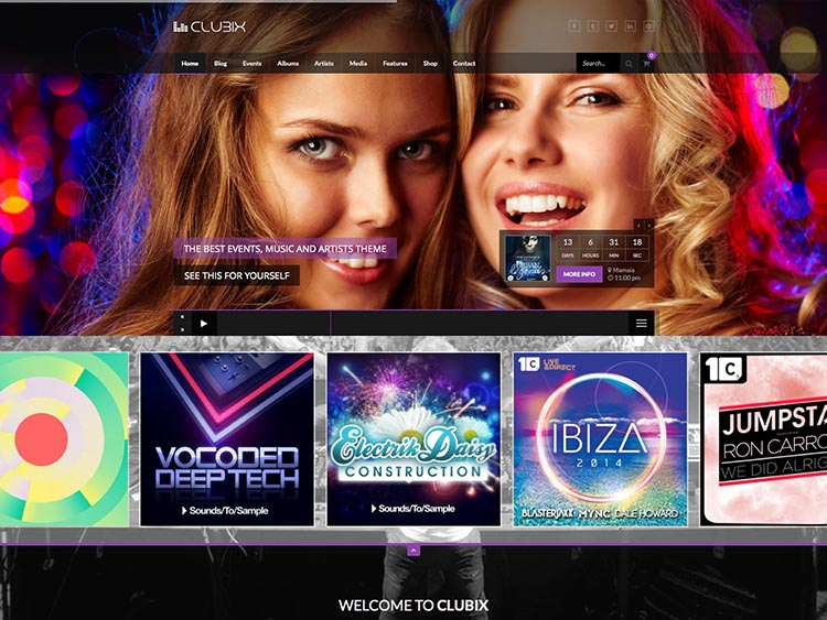 Best bar and dance club theme for WordPress