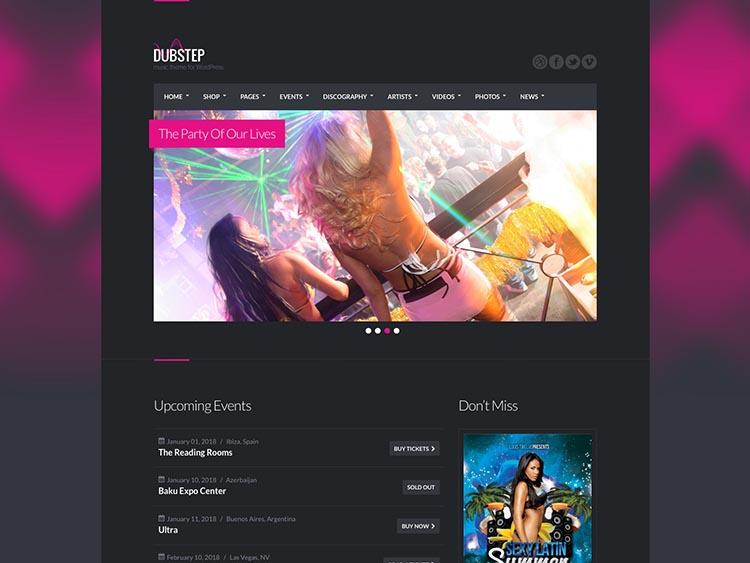 Dubstep WordPress