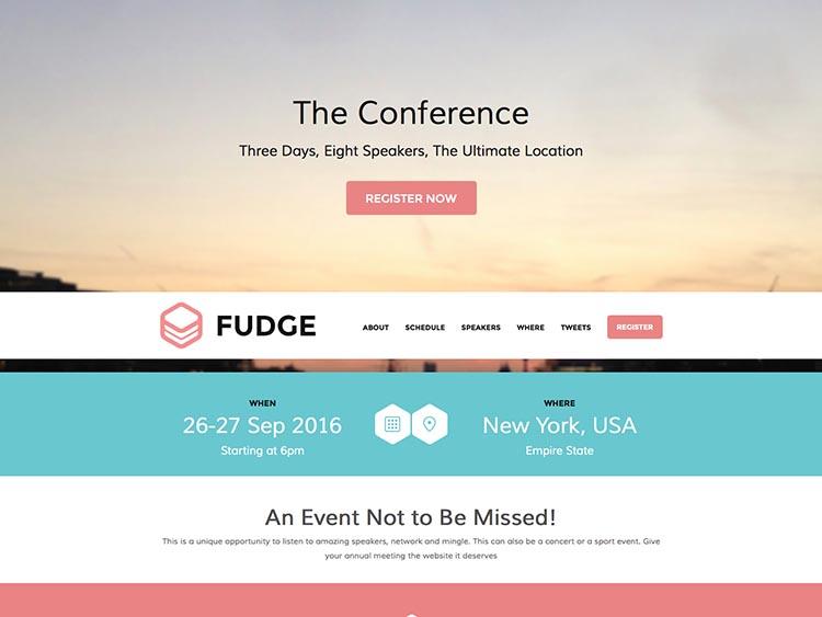 Fudge by ShowThemes