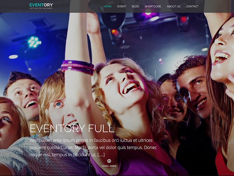 Eventory - Best Conference & Event Themes