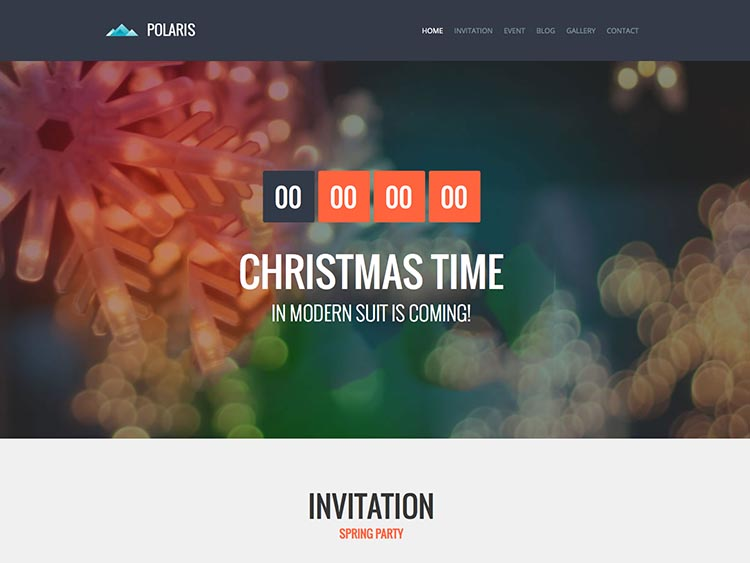 Polaris - Best Conference & Event Themes for WordPress