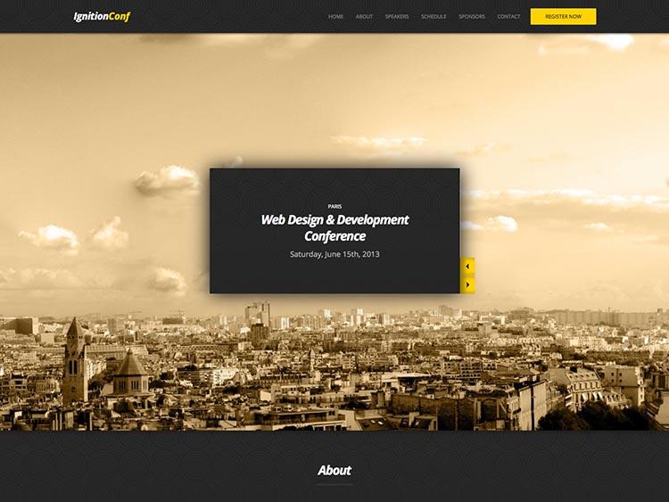 IgnitionConf - - Best WordPress Event Themes