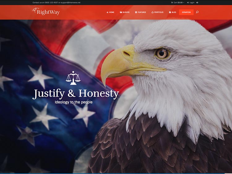 The Right Way- Best Political WordPress Themes