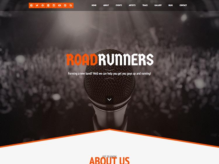 RoadRuners Music Theme