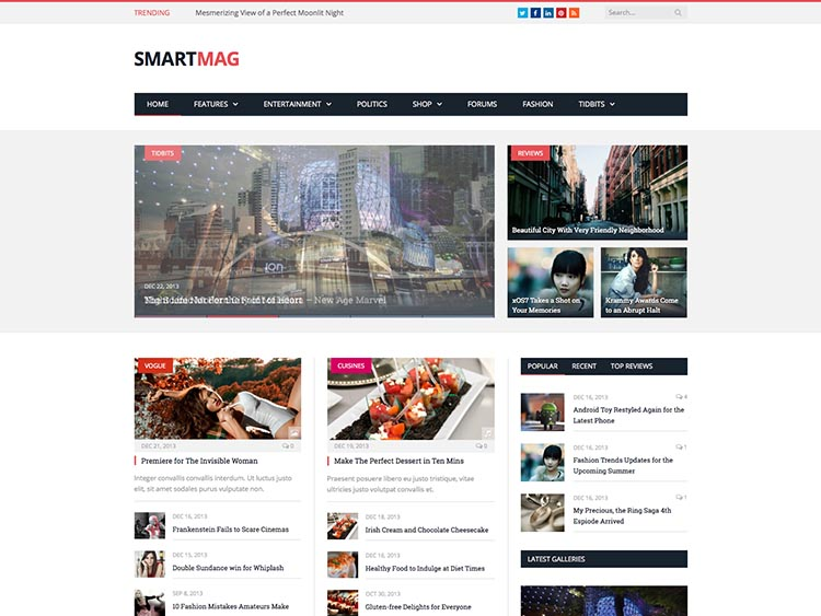 SmartMag - Best WordPress Review Theme
