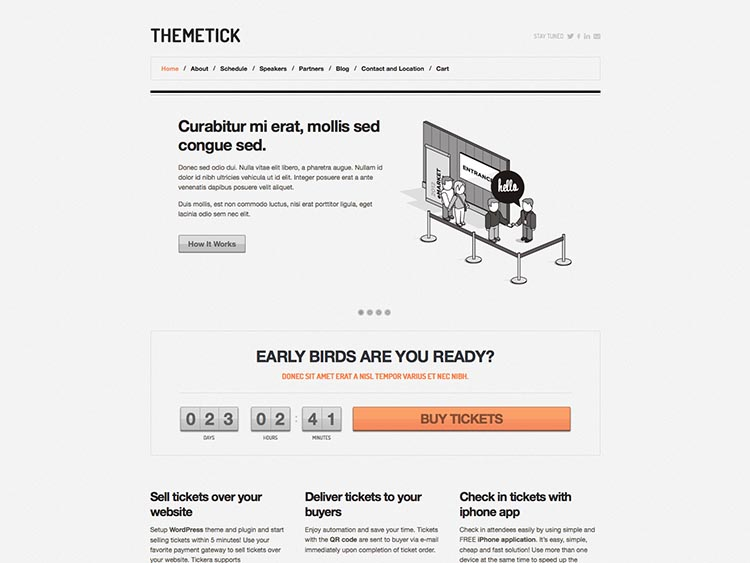 Themetick - Best Conference & Event Themes