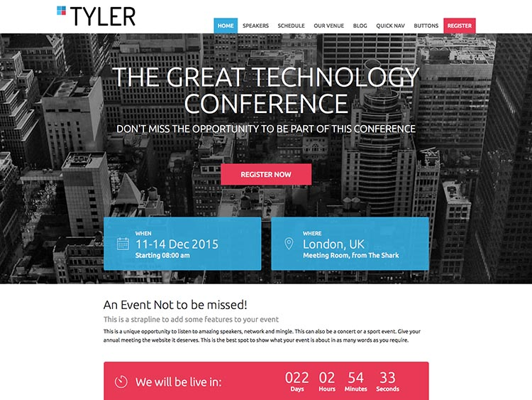 Tyler by ShowThemes