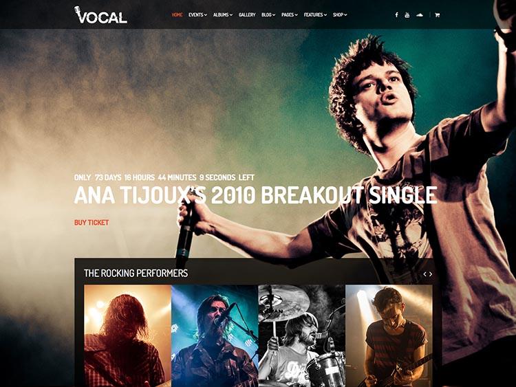 Vocal - Music Festival Theme