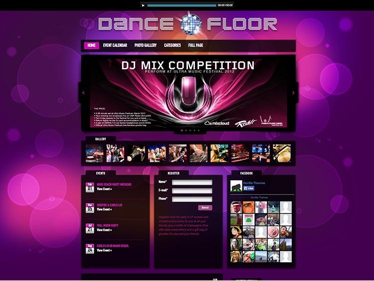 Dance Floor by GorillaThemes