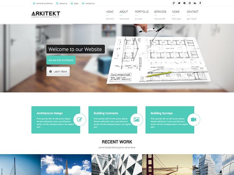 Arkitekt Theme for WordPress