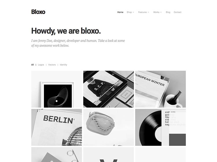 Bloxo Easy Digital Downloads Theme