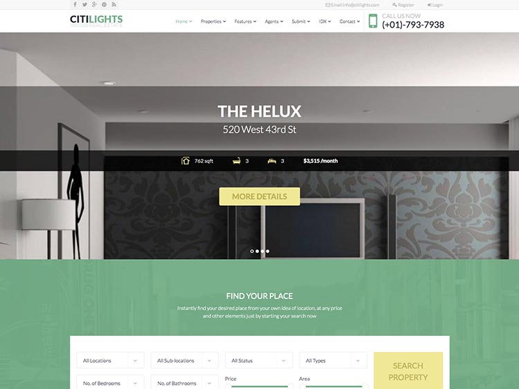 Ctitlights WordPress Theme