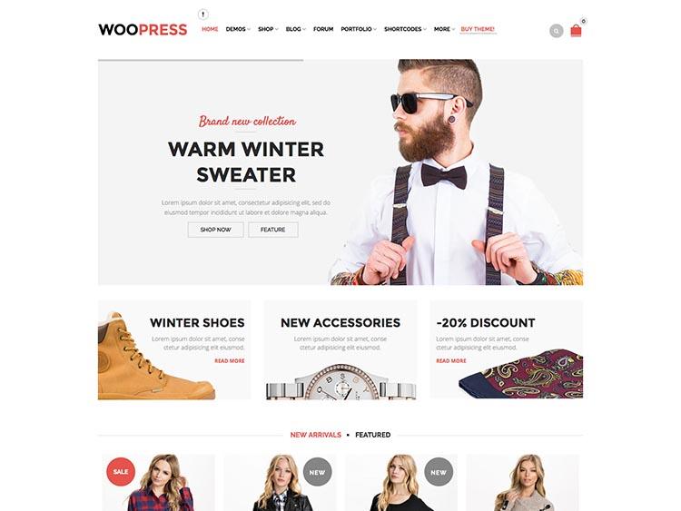 WooPress WooCommerce Theme for WordPress