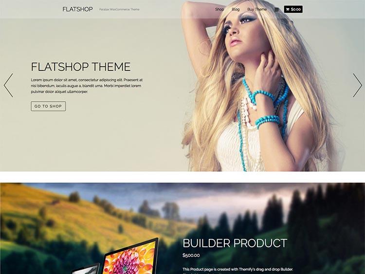 Flatshop WooCommerce WordPress Theme