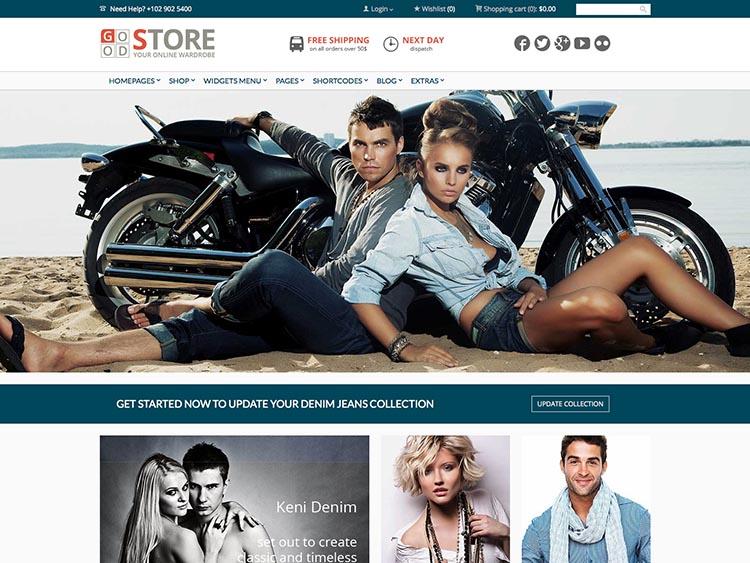 Goodstore WordPress WooCommerce Theme
