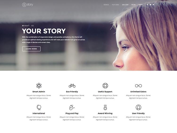 Story Mobile & Multipurpose WordPress Theme