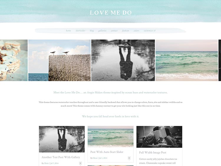 Love Me Do Theme for Women
