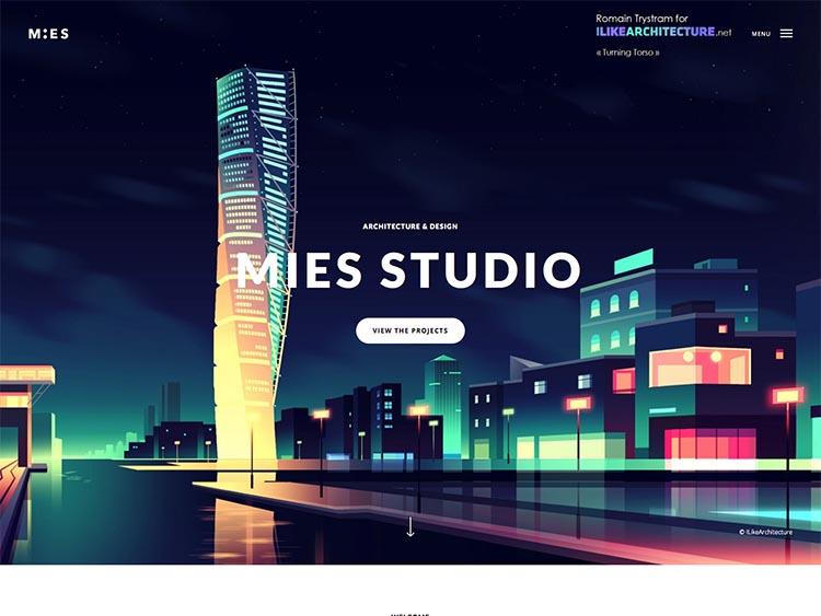 Mies WordPress Theme
